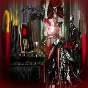 FEMME FATAL.Marie Laveau is the voodoo queen of New Orleans By Spartin Parx