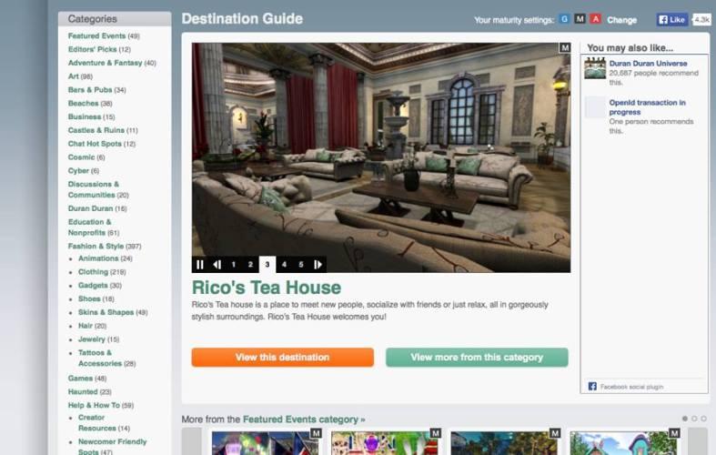 Rico's Tea House